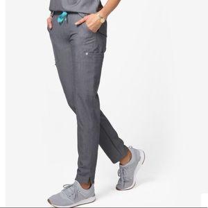 Figs Graphite yola scrub pants size small S gray